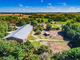 Northfield, MN horse property for sale with indoor riding arena and stall barn